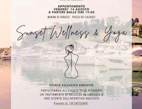 Sunset Wellness & Yoga – venerdì 14 agosto alle ore 19.00