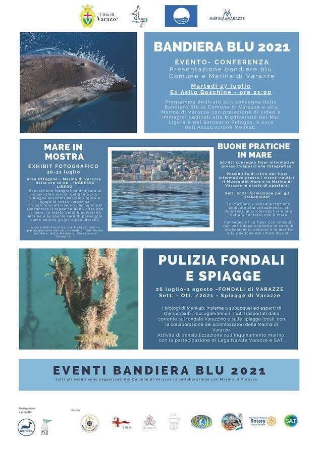 Locandina eventi Bandiera Blu